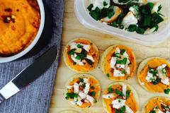 4 Ways to Enjoy Roasted Red Pepper & Pumpkin Hummus