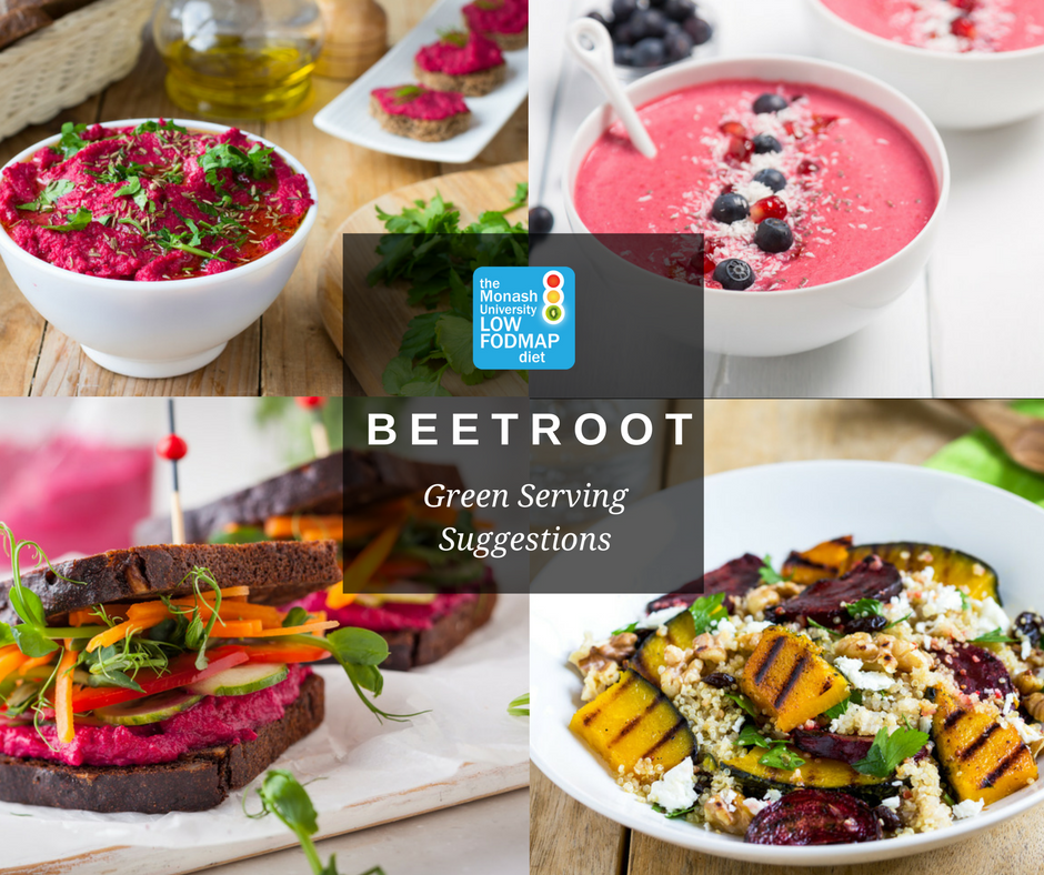 4 ways with 2 slices of beetroot