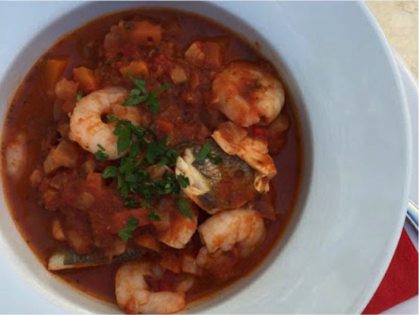 Caccuiccio (Seafood Stew)