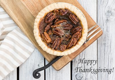 Celebrate Thanksgiving -  Low FODMAP Pecan Pie