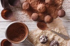 Double Chocolate and Teff Bliss Balls