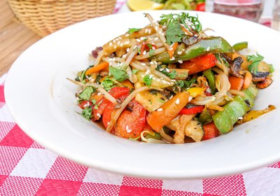 Fast and Healthy Stir-fried Vegetables