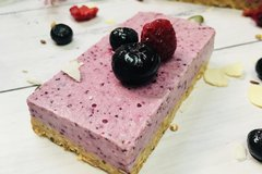 mixed berry slice