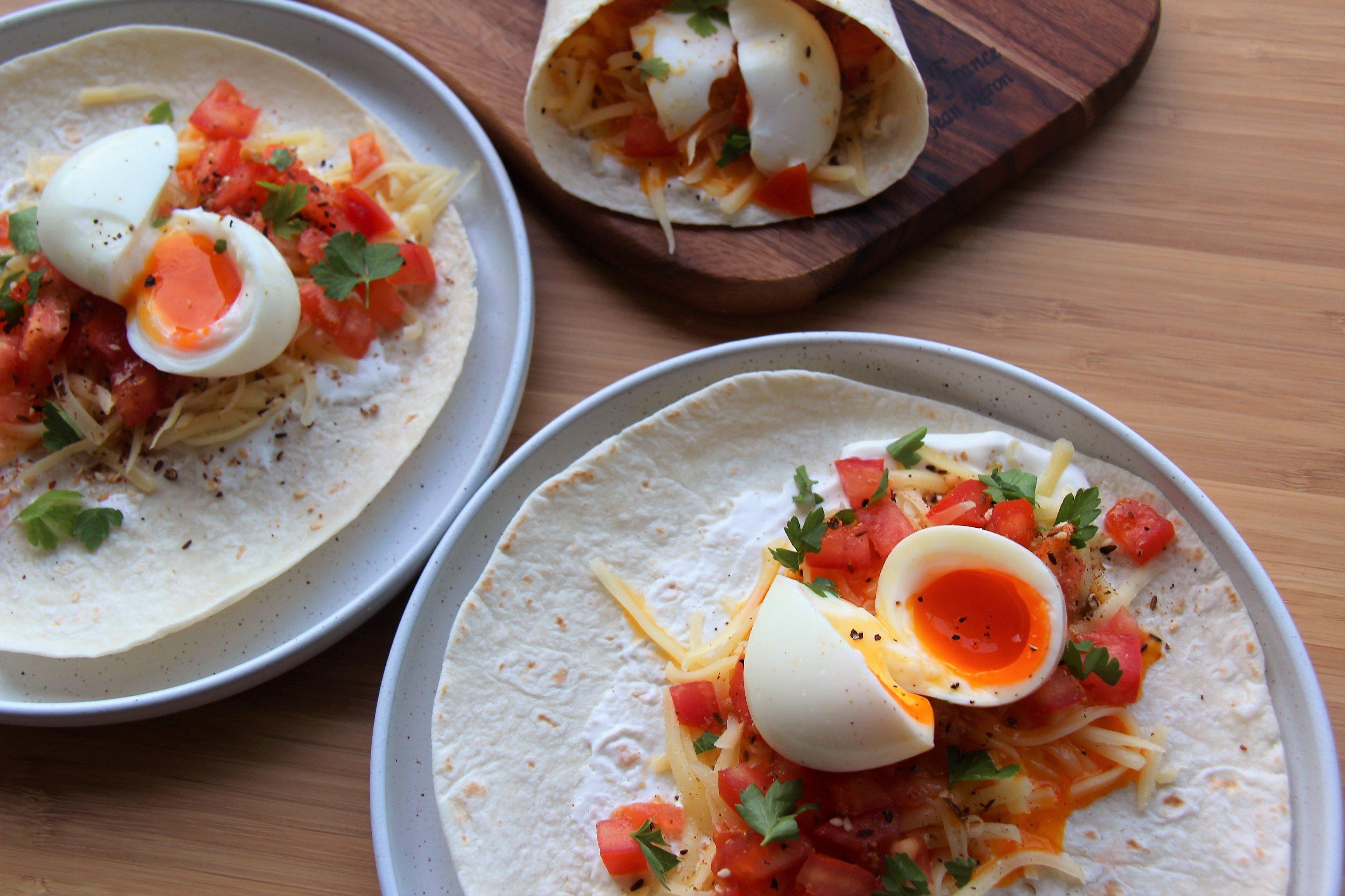breakfast tortillas