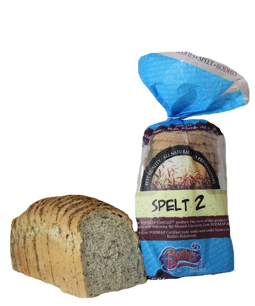 Introducing Bodhi's Bakehouse Spelt 2 breads that are Monash Low FODMAP certified