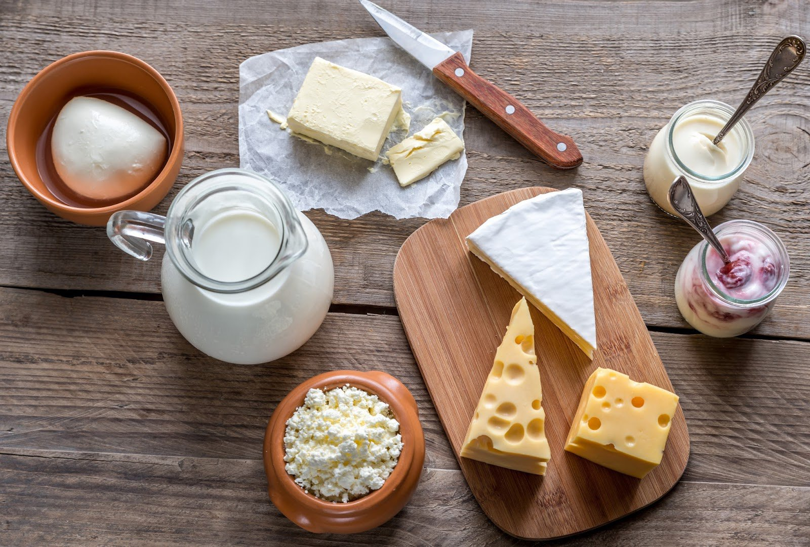 Lactose and Dairy Products on a Low FODMAP Diet