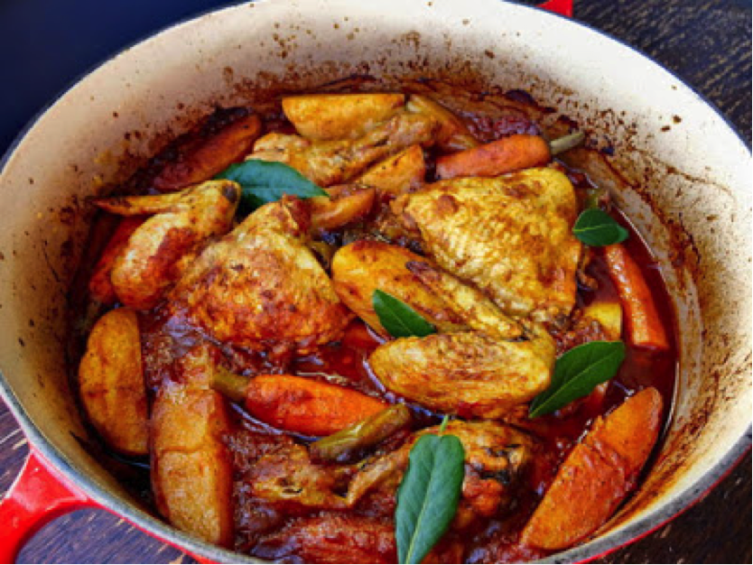 Low FODMAP Chicken Madras with Monash Certified sauce