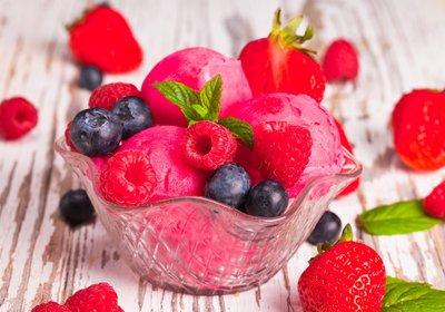 Low FODMAP Instant Fruit Frozen Yoghurt