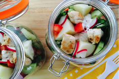 Low FODMAP Mustard Mayo Chicken Salad