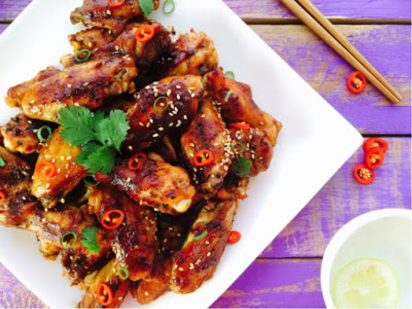 Low FODMAP Sticky Chinese Chicken Wings