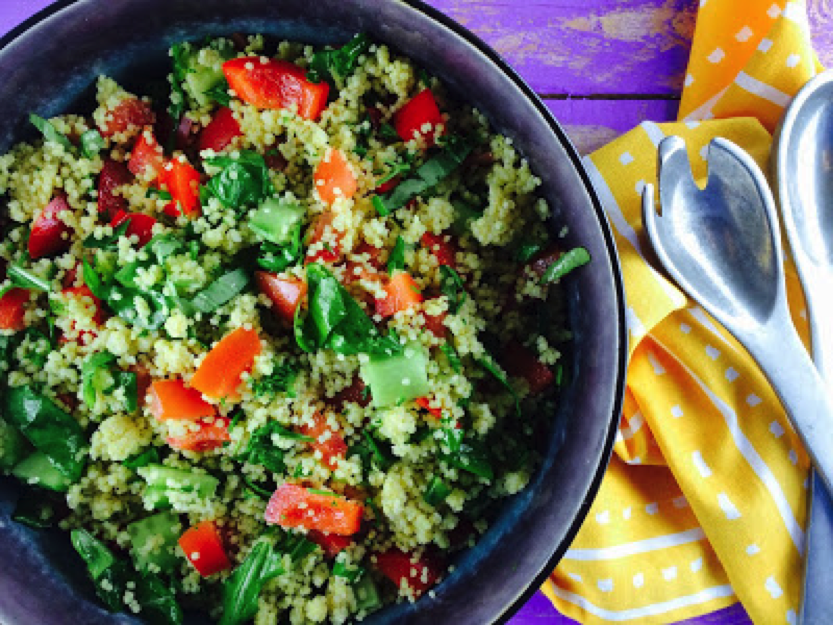 Low FODMAP Summer Millet Salad