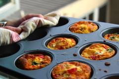 Low FODMAP Vegetables Muffins