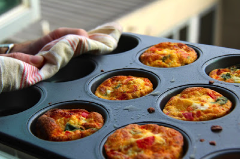 Low FODMAP Vegetables Muffins