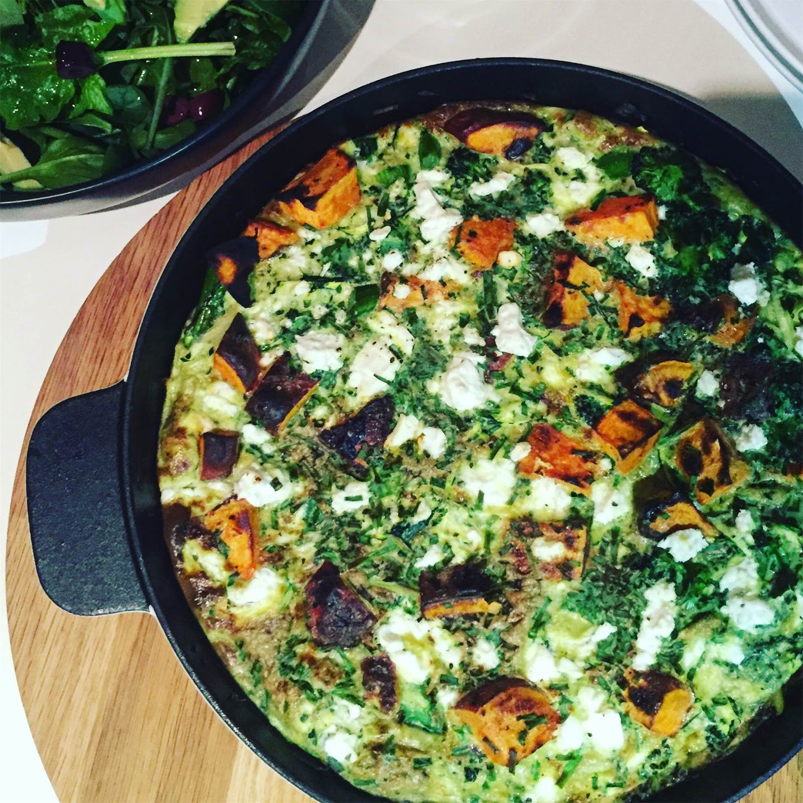Low FODMAP Vegetarian Frittata