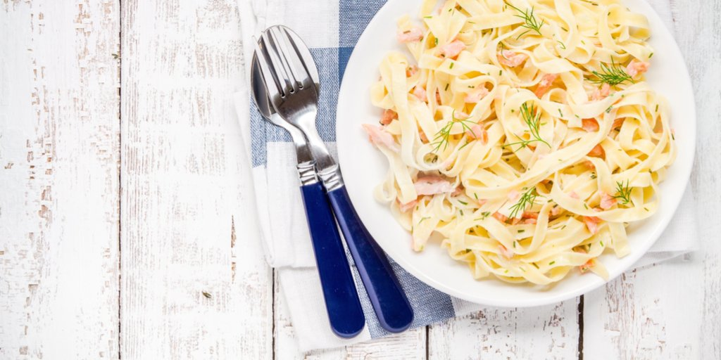 salmon and dill pasta