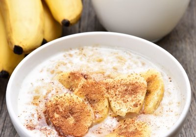 Quinoa Porridge with Banana & Yoghurt