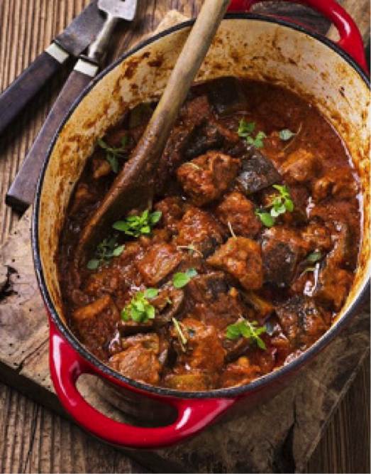 Slow-cooked low-FODMAP Lamb Casserole