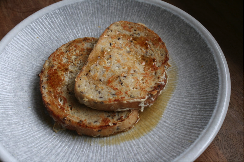 Vegan Low FODMAP French Toast