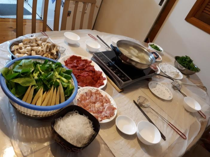 Winter Warming Fun - Asian Hot Pot!