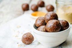 peanut butter hemp balls