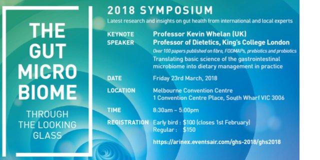 NNI gut microbiome symposium 2018